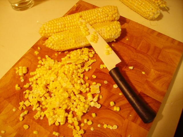 Как сделать зерна для кукурузы 499